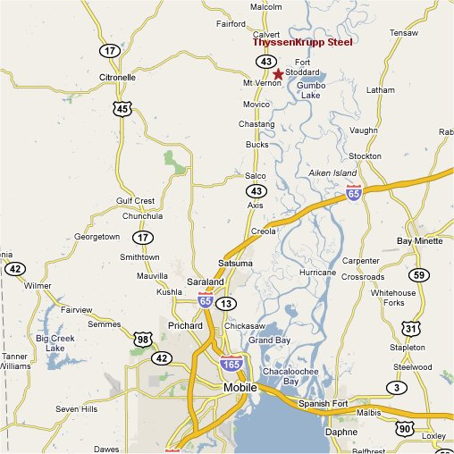 Town Of Mount Vernon Alabama Official Website - Map of al